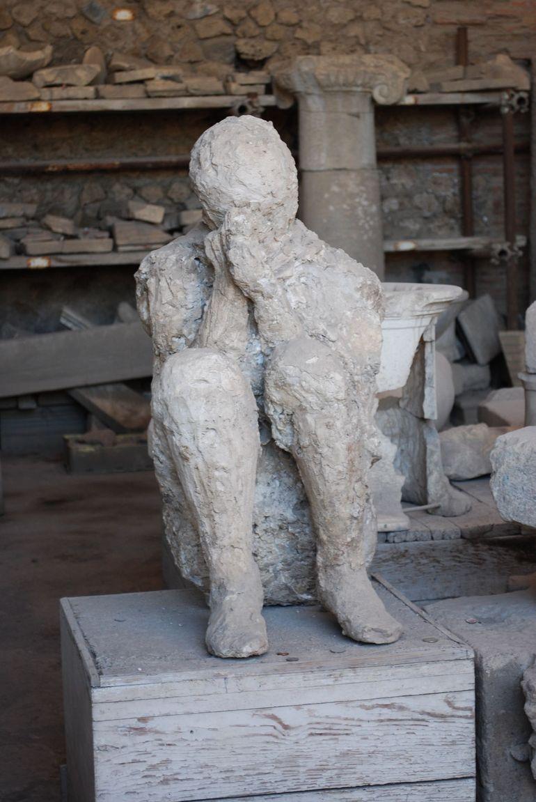 Poignant figure in Pompeii - Rome