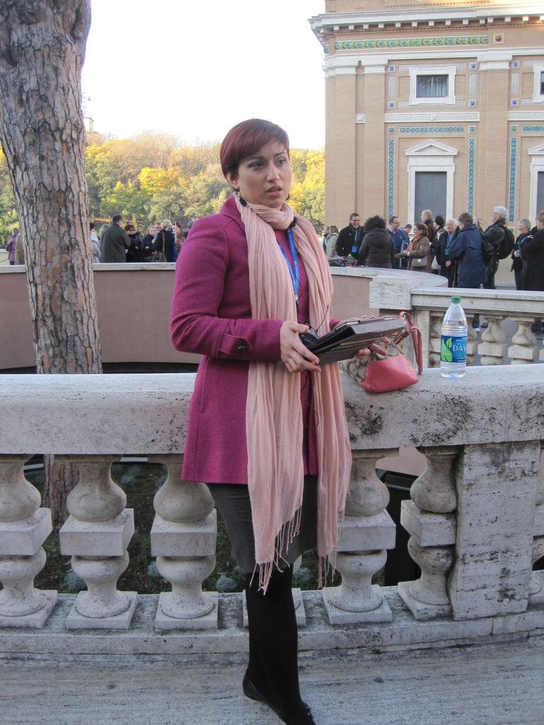 Rome 91 Vatican tour Jeanette - Rome