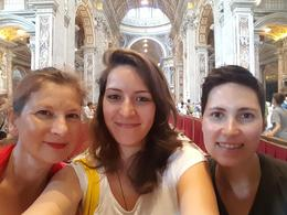 Inside St Peter's Basilica., Roxy - September 2016