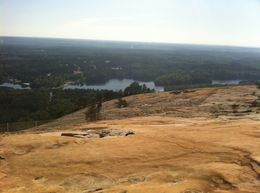 Top of the mountain. , Josee - April 2012