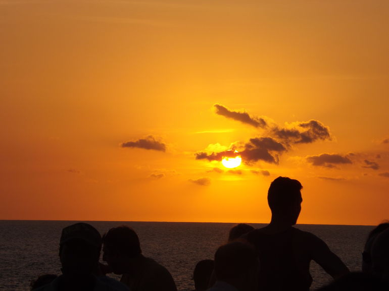 Sunset at Rick's Cafe 05/11/13 - Montego Bay