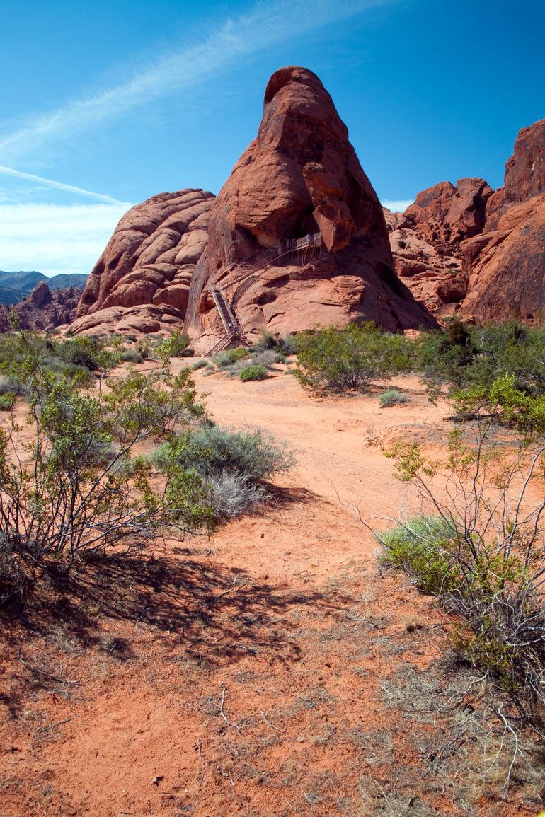 Valley of fire --The Praying Nun - Las Vegas