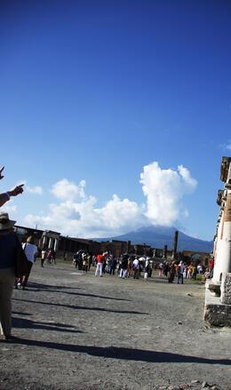 Is Mount Vesuvius erupting again? , Leslie L - October 2014