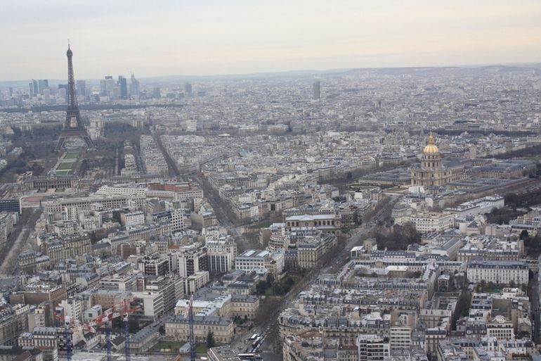 View From Monparnasse Tower - Paris