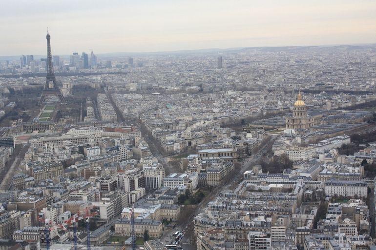 View From Monparnasse Tower - Paris
