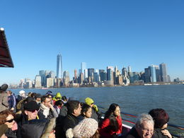 View of south Manhattan form the deck of the circleline cuise boat , Elena Z - February 2015