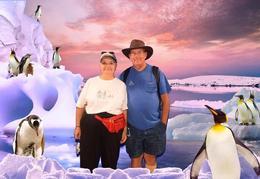 Lelia and Chuck At Kelly Tarlton's Sealife Aquarium , Lelia Ann B - December 2016