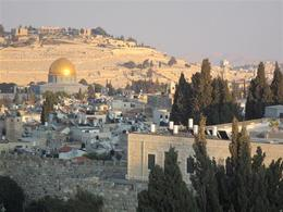 Overlooking Old Jerusalem , Clyde C - October 2017