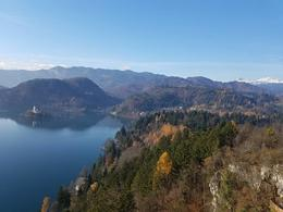 The view on the look out on the castle. , Mandi - November 2017