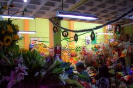 At the market, flowers/fruit. , Todd M - December 2017