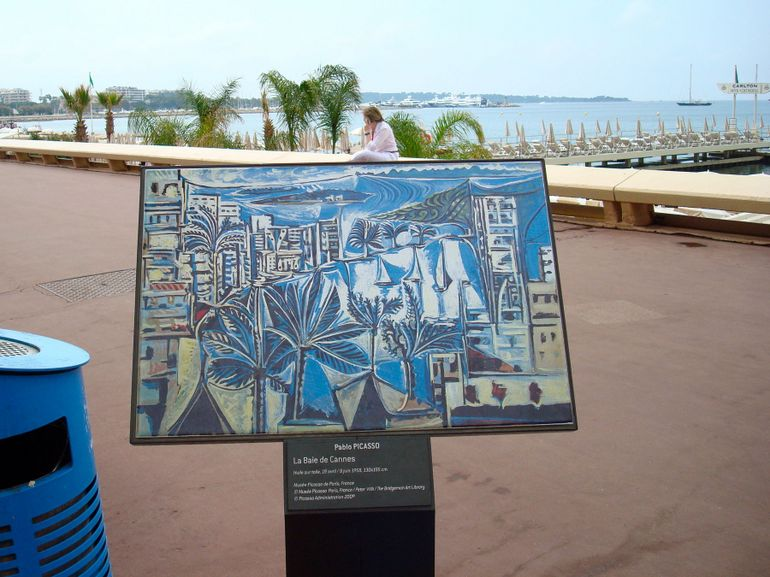 A painting in Cannes - Nice
