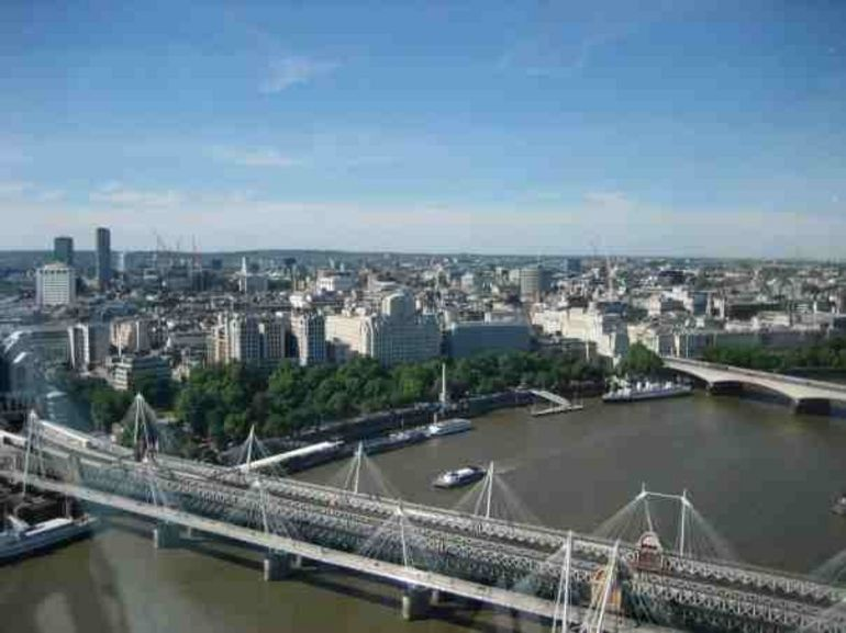 A View of London from the Eye - London