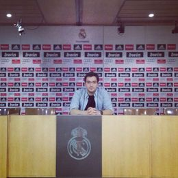 Me in Bernabeu Press Center , Sandro C - June 2013