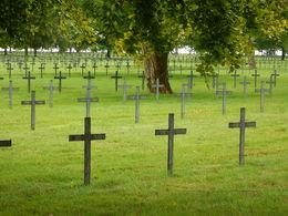 German cemetery containing close to 45,000 German casualties , jatypan - September 2015