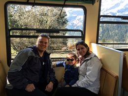 Going Up to the Top of Europe in one of the trains , Bruno S - July 2016