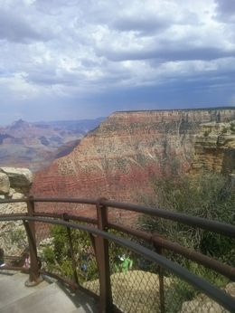 Breathtaking view of the Grand Canyon - August 2013