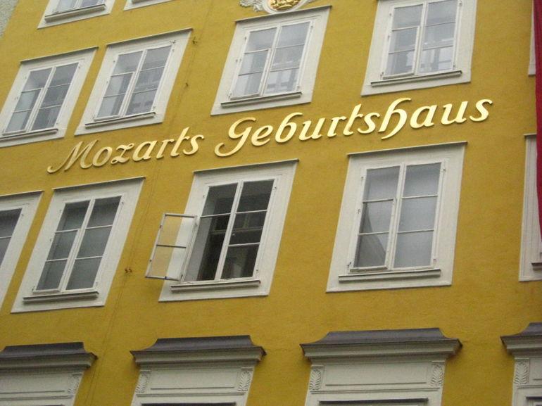 Mozart's House! - Vienna