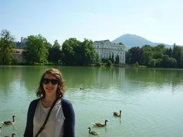 me in front of Schloss Leopoldskron, Irene - July 2015