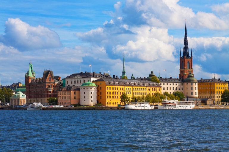Stockholm Colorful Buildings - Stockholm