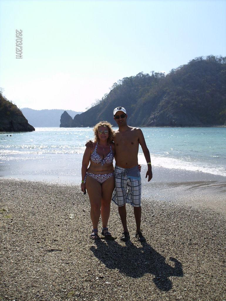 Walking around in paradise - Jaco