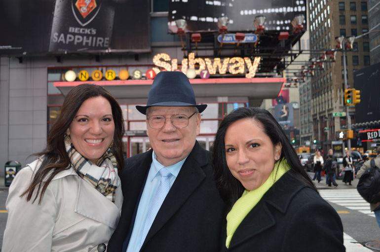 We meet Dad! - New York City
