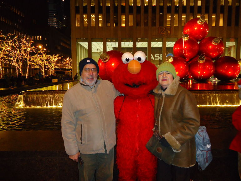 y nos topamos con Elmo - New York City