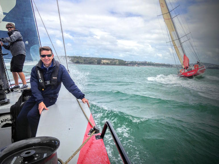 America's Cup Sailing on Auckland's Waitemata Harbour