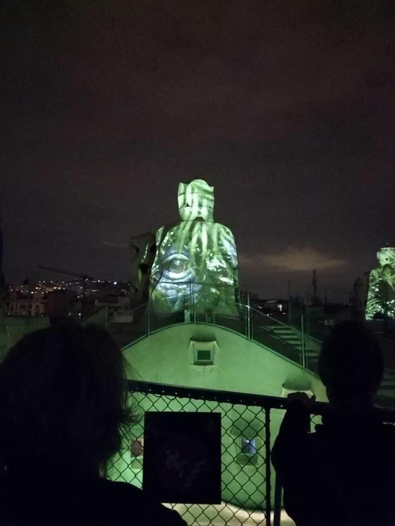 La Pedrera Night Experience: Visit + Audiovisual Display on the Roof Terrace photo 15