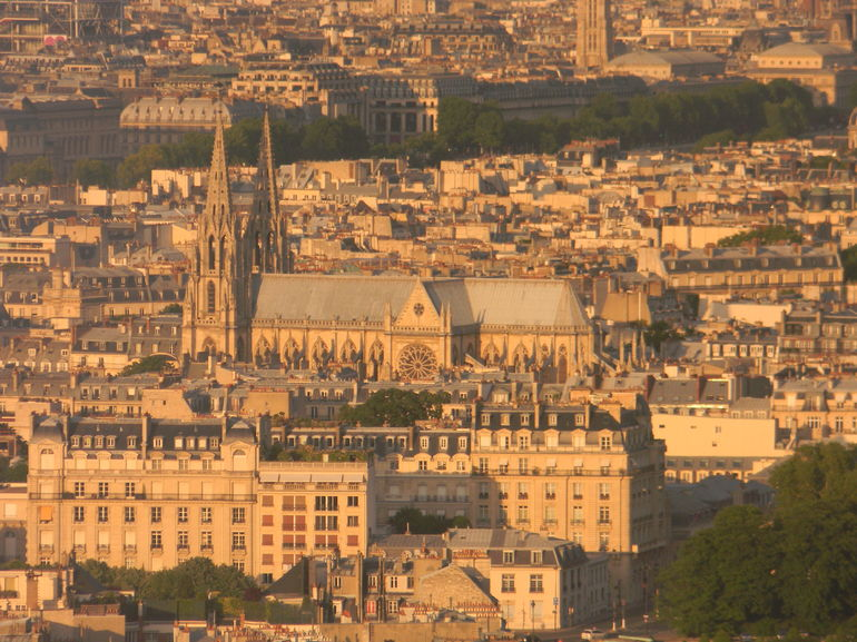 A Gargoyle's View of Notre Dame - Paris