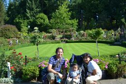 Big smiles before exploring the rest of Butchart Gardens!!! , Catherine G - August 2011