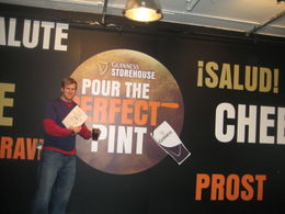 Guinness Storehouse: You can learn how to pour the perfect pint - June 2011