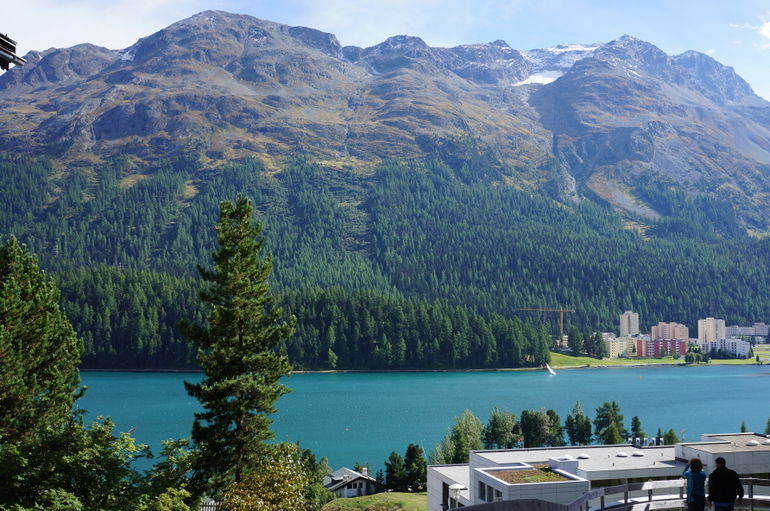 Lake in St Moritz - Milan
