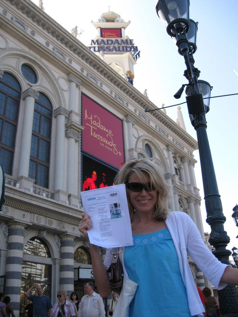 Me and My Viator Coupon! - Las Vegas