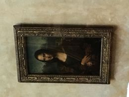 Yup the real one in the Louvre , Jeffery R - July 2016