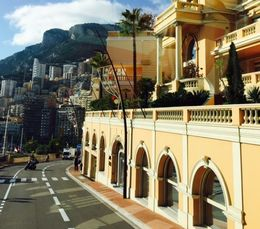 Monaco ... Heading into the oldest part of the city , Bev Chislett - January 2016
