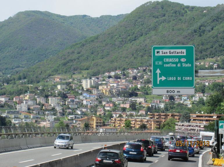 On the way... - Milan
