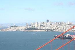 Above the Golden Gate Bridge. , Thomas M - July 2014