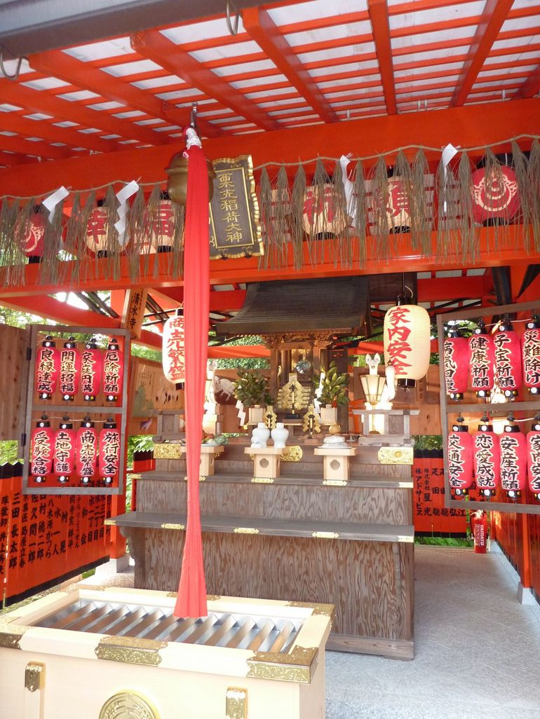 Side Altar at Kiyomizu Temple - Kyoto