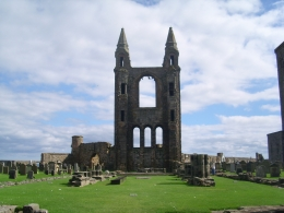 St Andrews: Gorgeous historic architecture, Amber L - September 2010