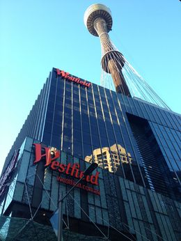 Sydney Tower, Cat - November 2013