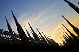 the spires at sunset , neeraj g - October 2015