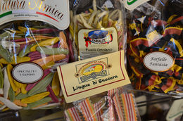fun pasta on display in Piazza Navona, Jeff - July 2013