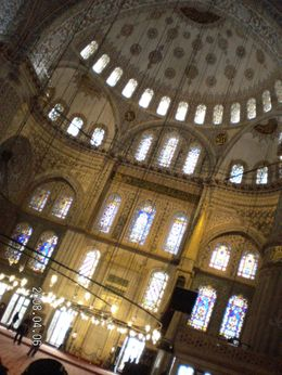 Inside the Blue Mosque., Cheryl W - May 2008
