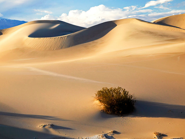 Burian Dunes Death Valley -