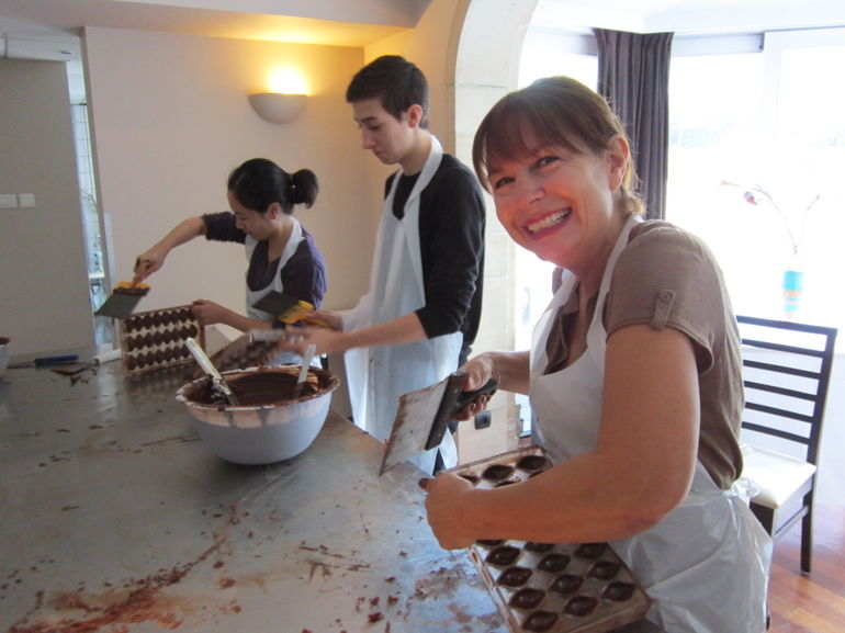 chocolate making - Brussels