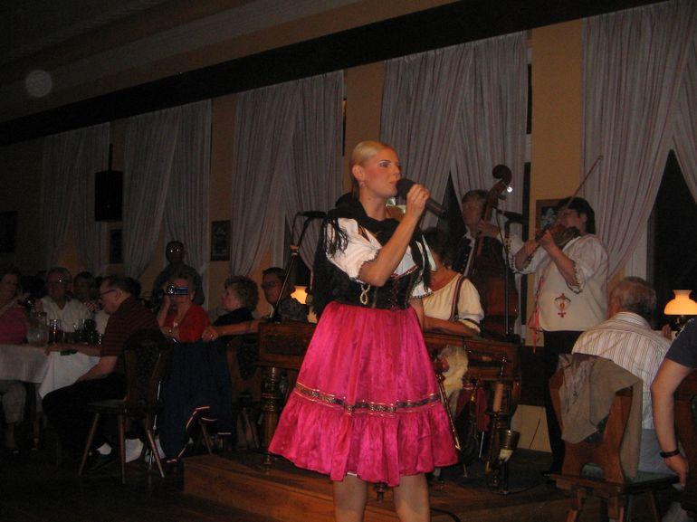Czech singer - Prague