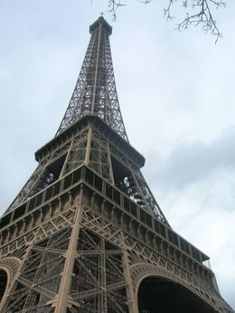 Great view of the Eiffel Tower from the bottom, Mahesh Mane - April 2010