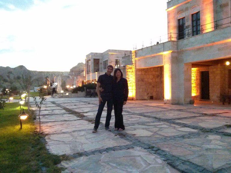 Evening at MDC Hotel in Cappadocia - Istanbul
