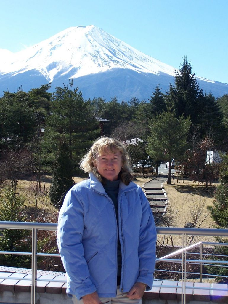 Fuji-san from the information centre - Tokyo