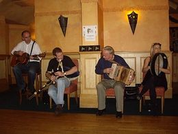The wonderful musicians at the Irish House Party on 15 November 2008., Cynthia S - November 2008